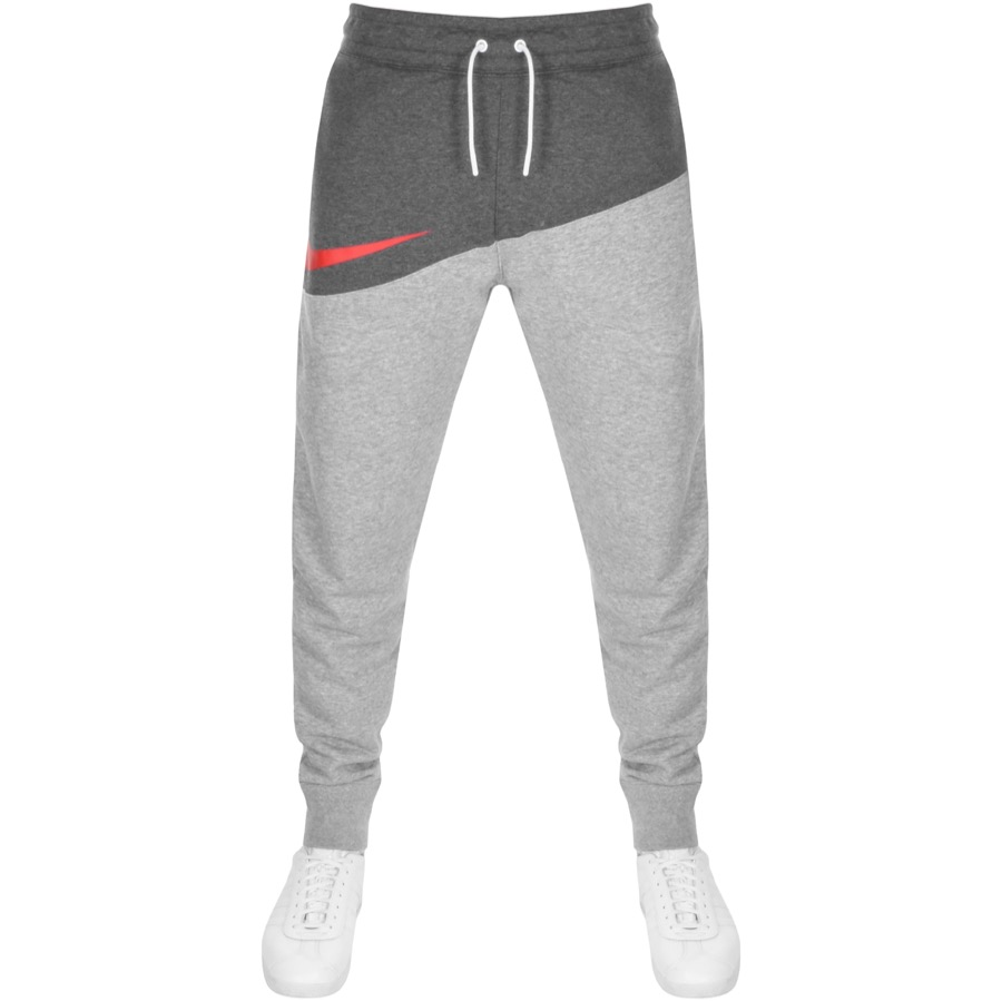 Nike Logo Jogging Bottoms Grey
